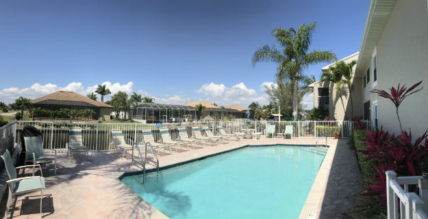 Community Pool at Pointe Coral Condo