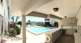 Beautiful pool at Schooner Cove Condo Cape Coral