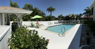 Community Pool at the Searay Condo SW Cape Coral