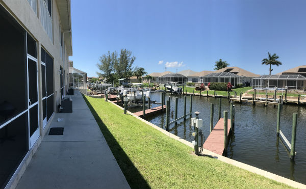 Villa Congress townhomes for sale in Cape Coral