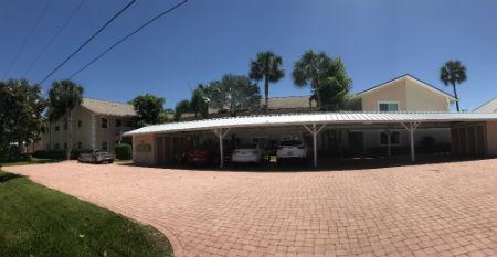 Lots of parking at Villa De Vern Condos