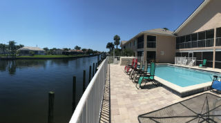 Community Pool at Villa De Vern Condos for sale