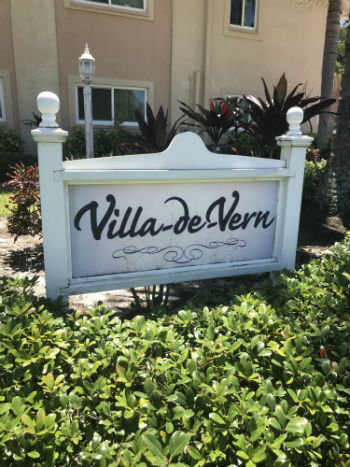 Villa De Vern Sign Plaque Waterfront Condos for sale