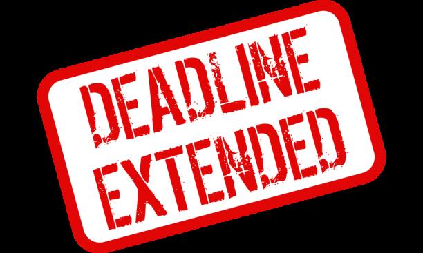 Extend your deadlines