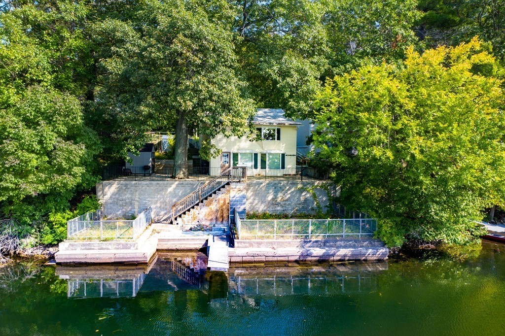 Wayland Pondside home