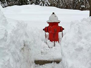 Keep your hydrant visible