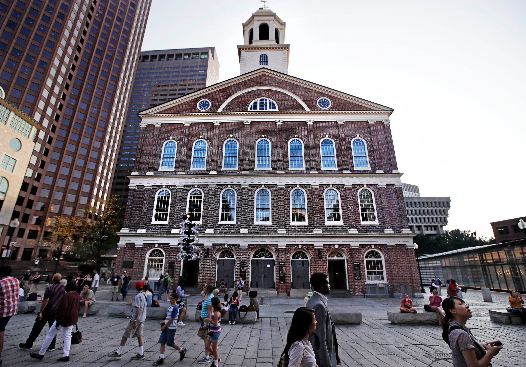 Jim Sells Downtown - Faneuil Hall, Quincy Market
