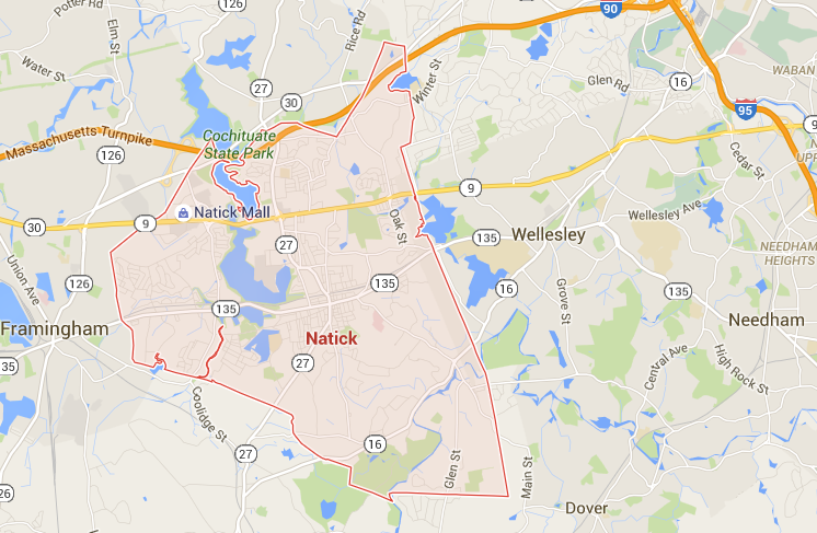 Jim Sells Natick - Map