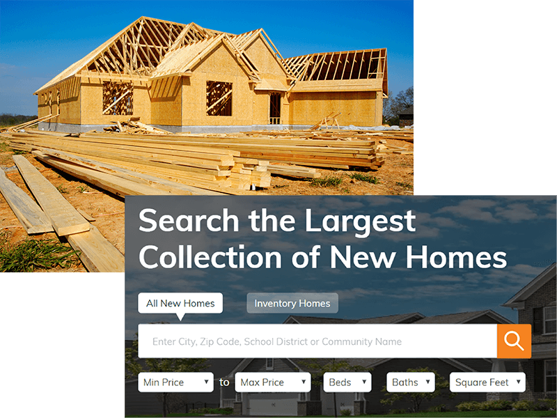 new construction property search