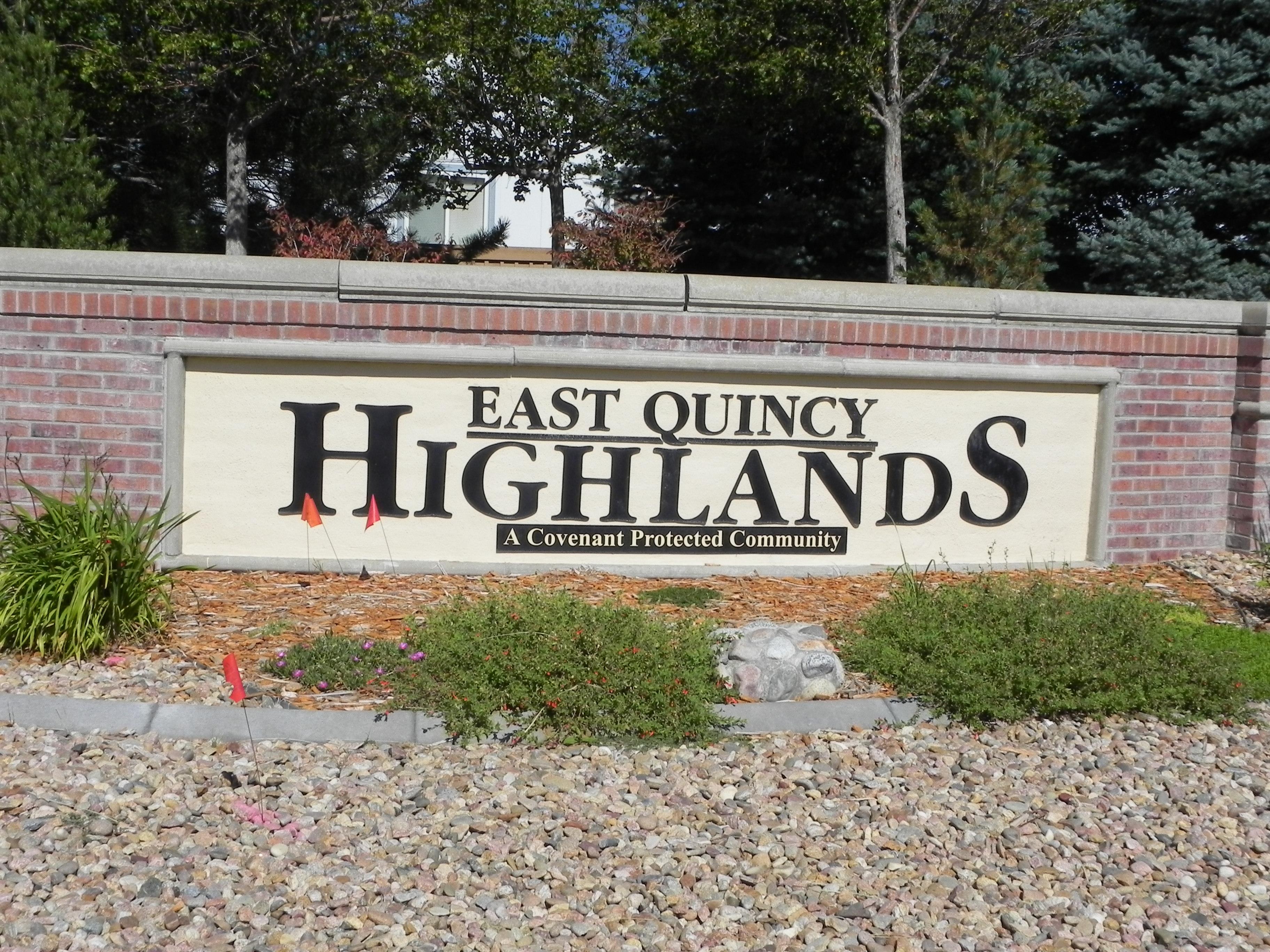 East Quincy Highlands