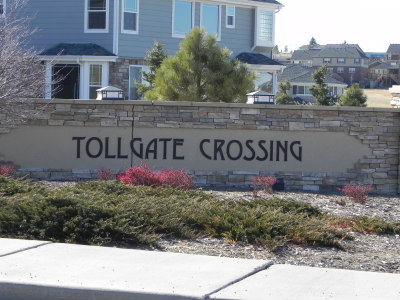 Tollgate Crossing Entry
