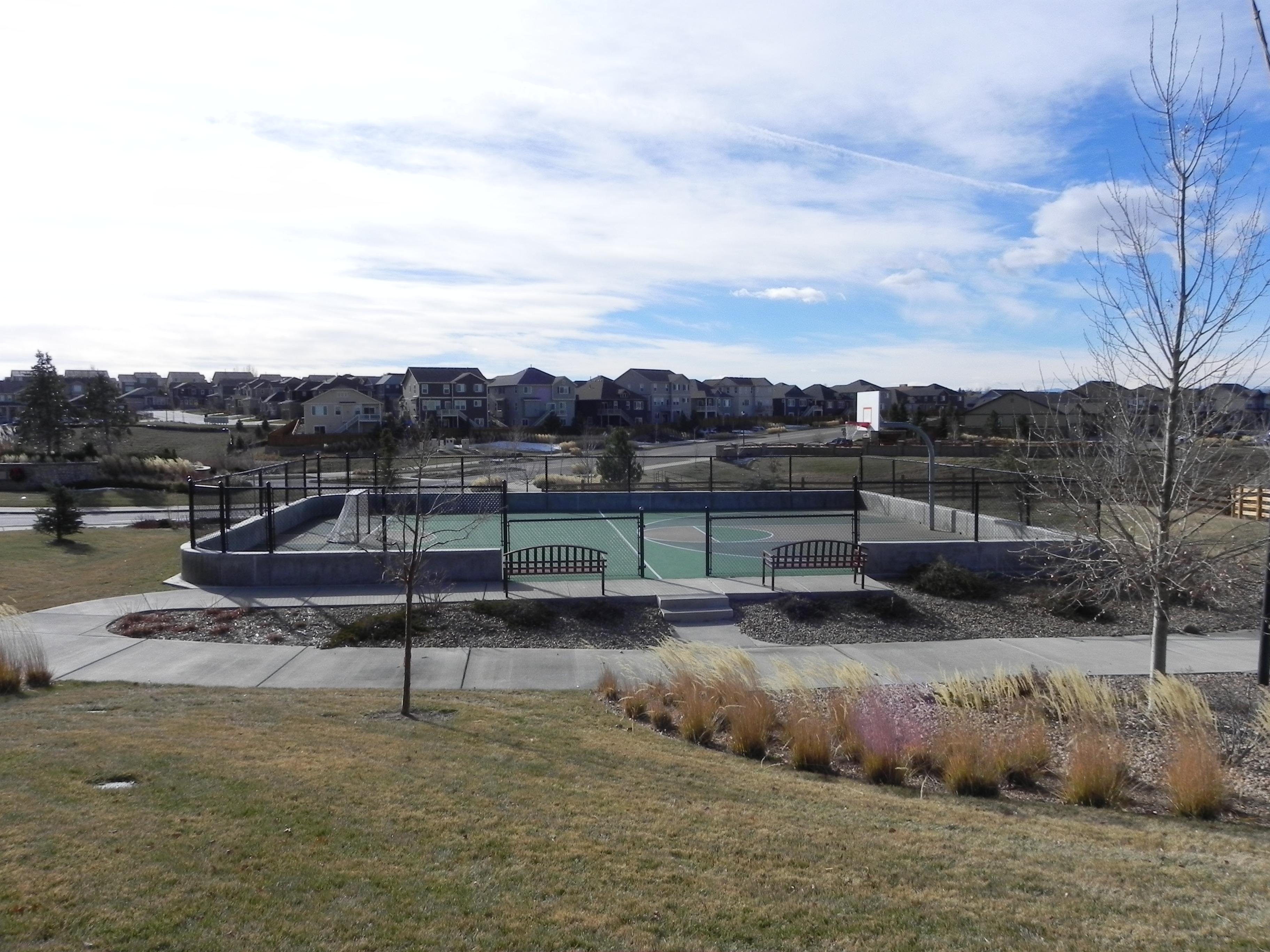 Copperleaf basketball court
