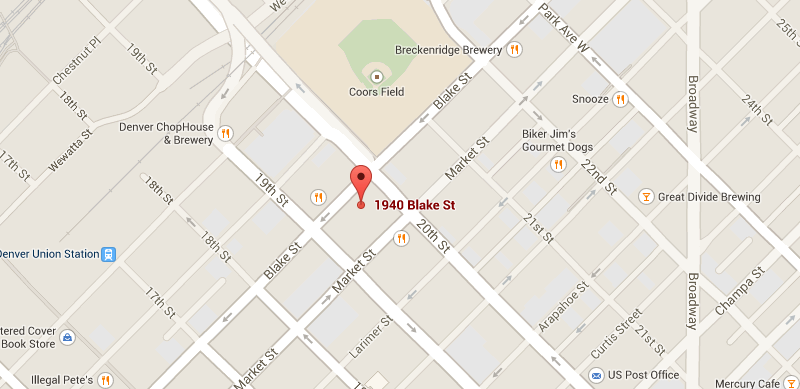 Map to E Street condos