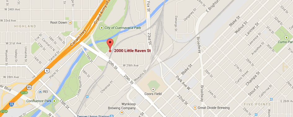 Map to Flour Mill lofts