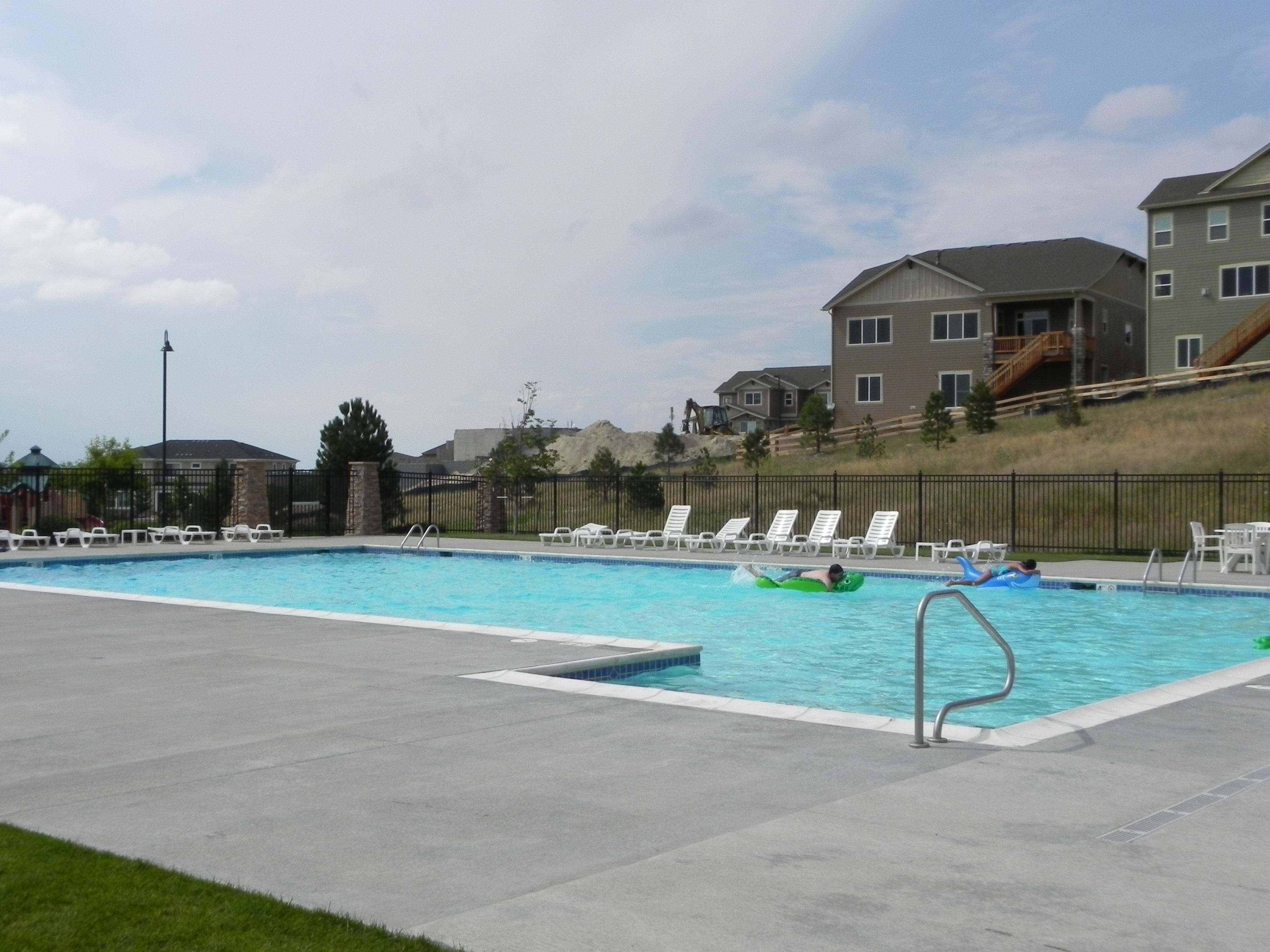 Pine Bluffs pool