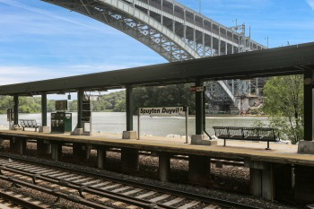 RIVDERDALE NY TRAIN STATION