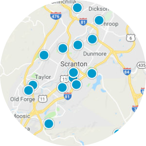 Abington Heights School District Real Estate Map Search