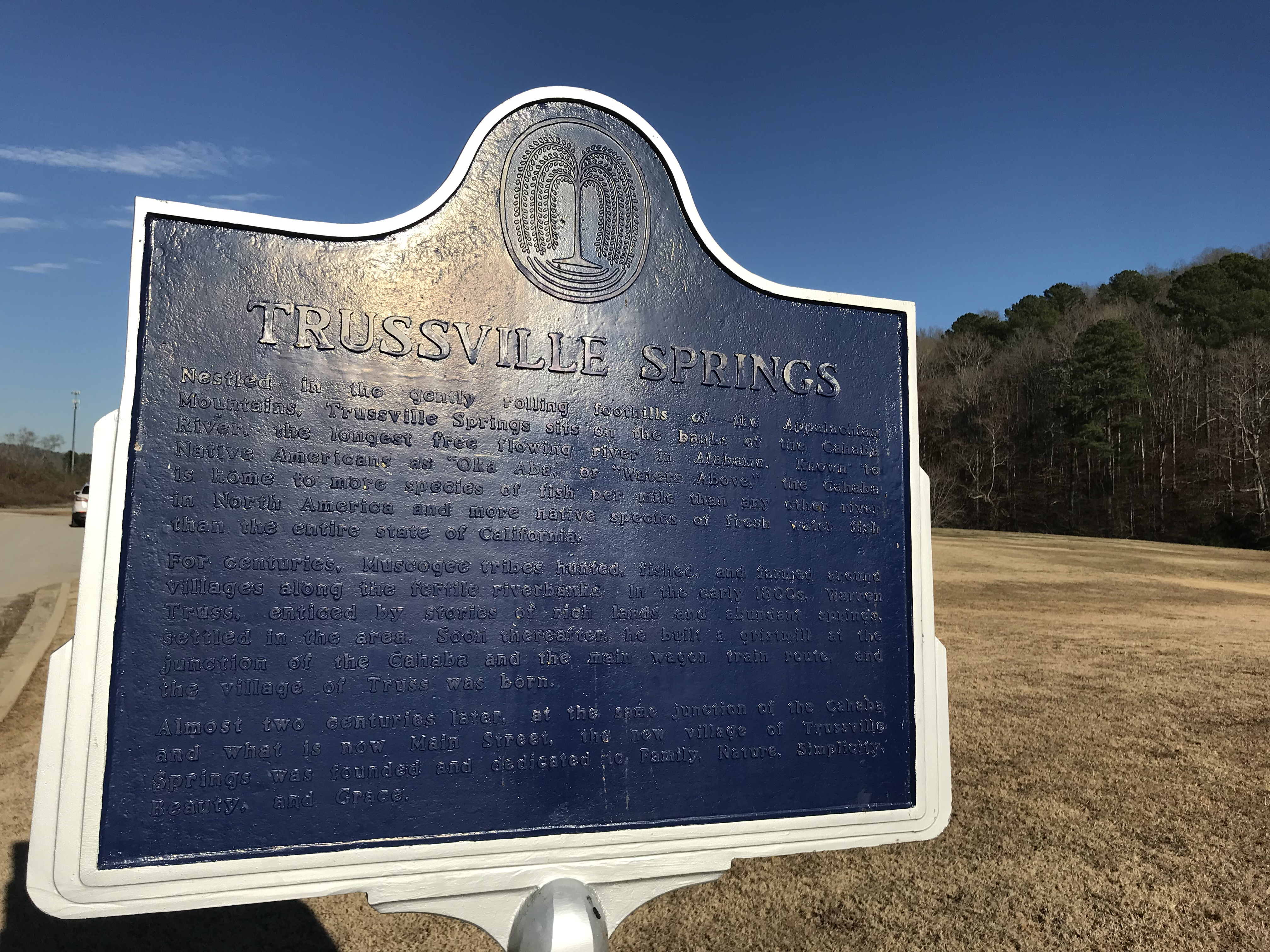 Trussville Springs Historic Sign