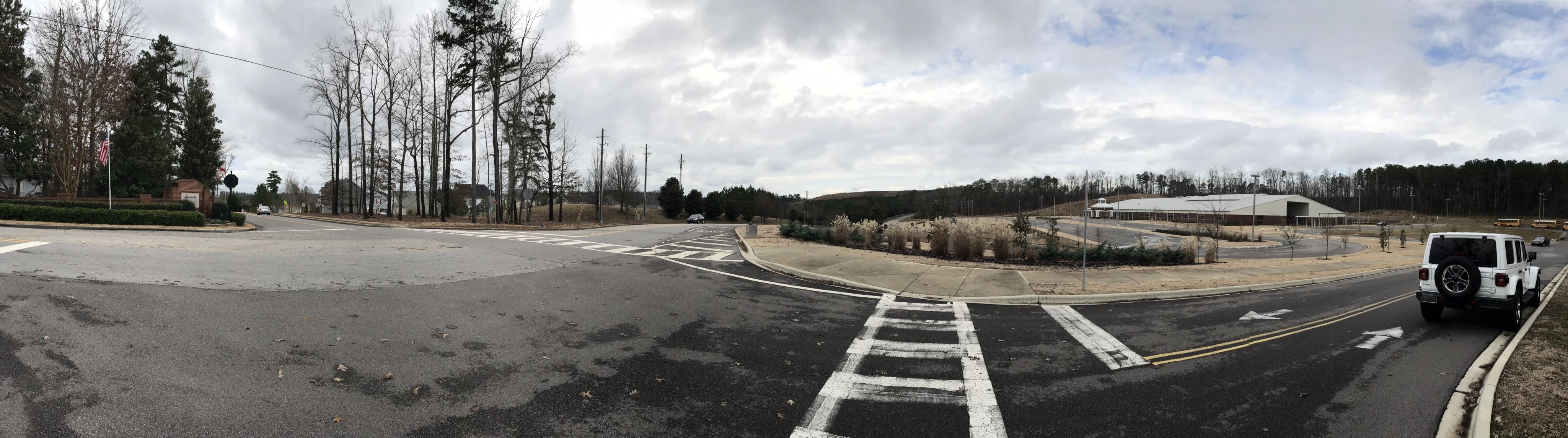 Magnolia Elementary intersection Trussville