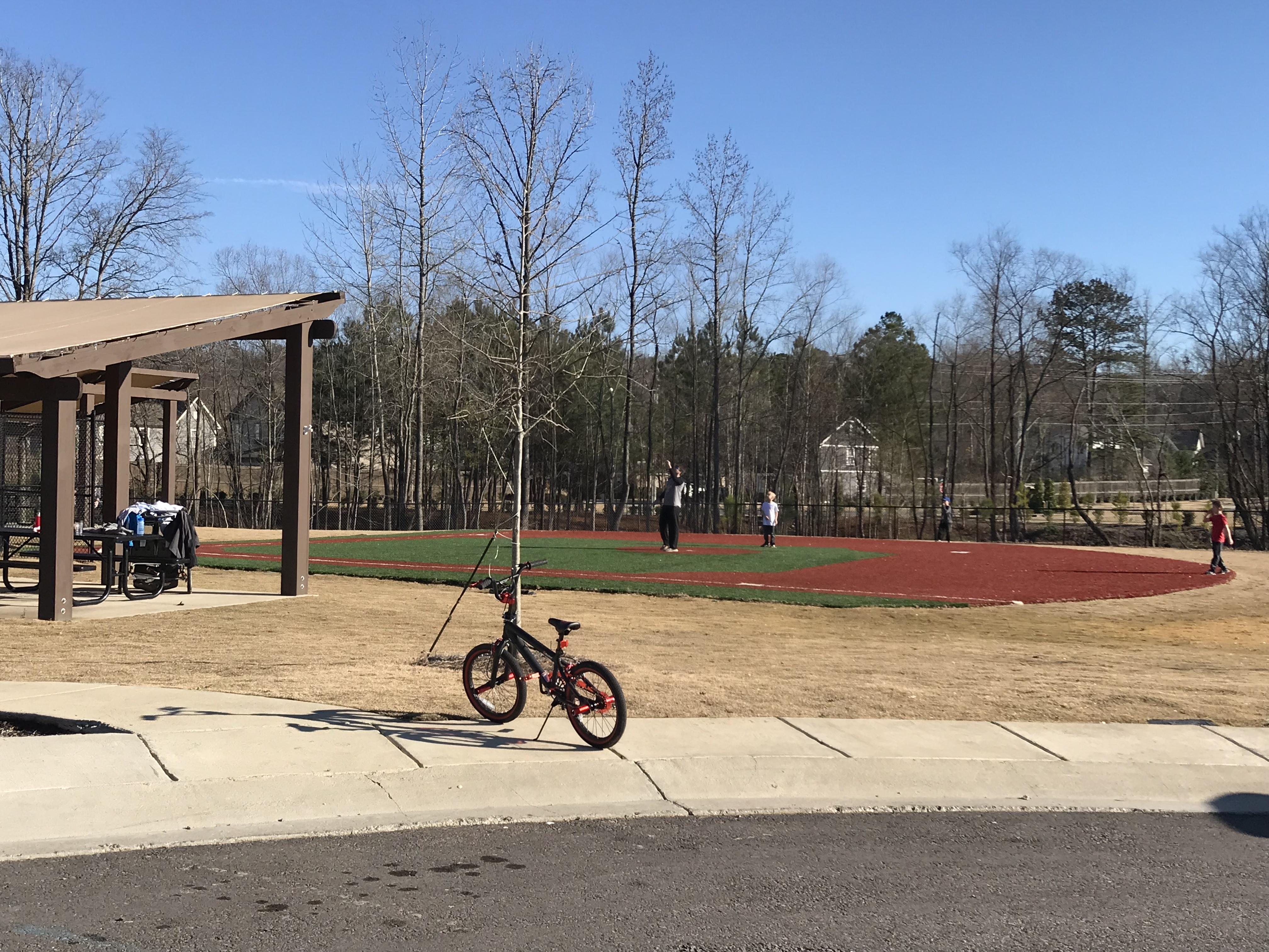 Stockton T-ball field Trussville Alabama