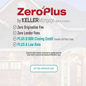 Keller Mortgage Zero Plus Loan Program