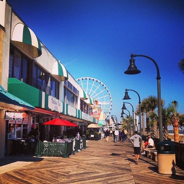 Restaurants on the Boardwalk