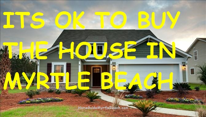 Buying A Condo or House in Myrtle Beach