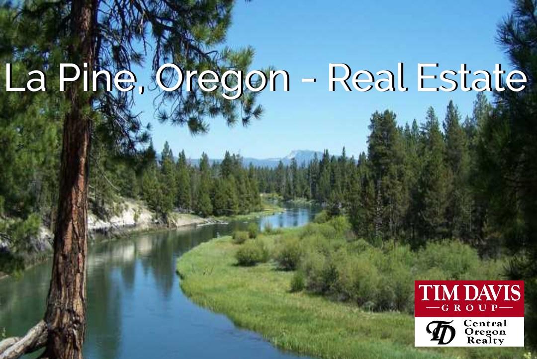 La Pine Oregon Iconic Deschutes River image