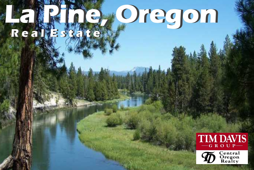 La Pine Oregon Iconic Deschutes River image