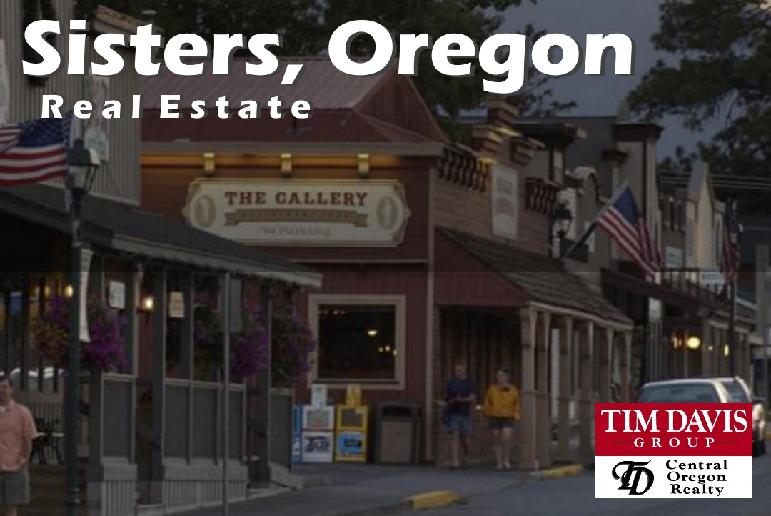 Sisters Oregon Iconic Main street image