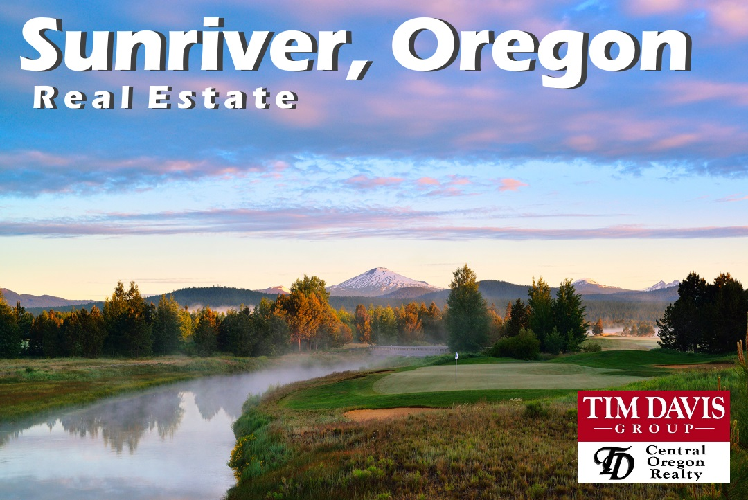 Sunriver, Oregon iconic crosswater golf course image