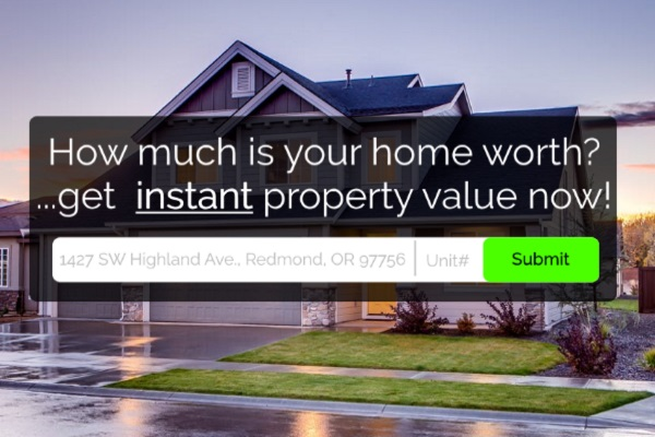 How much is your property worth? Click here to find out.
