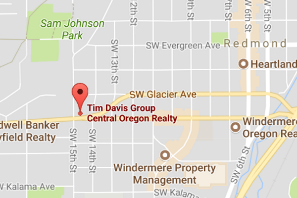 Tim Davis Group - Central Oregon Realty Redmond Oregon Office Location