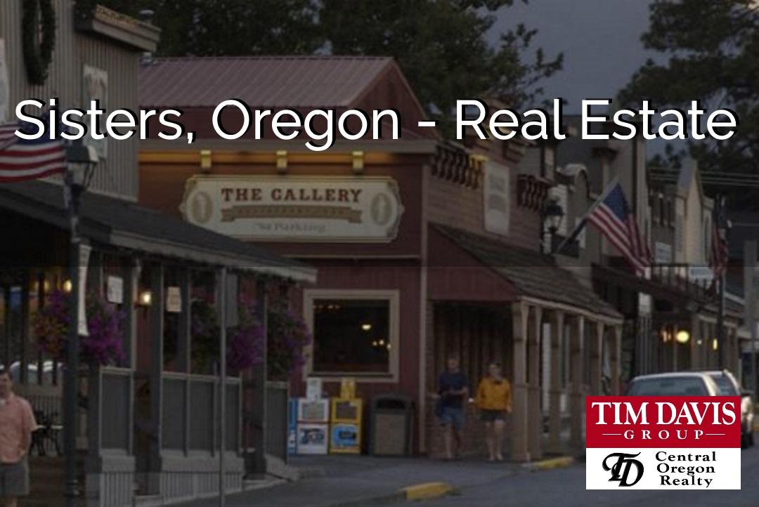 Sisters Oregon Iconic Main street image
