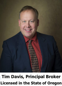 Tim Davis Principal Broker Tim Davis Group Central Oregon Realty