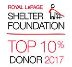 RLP Sheler Foundation Top 10 Donor