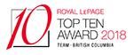 Royal LePage Top Ten Team BC 2018
