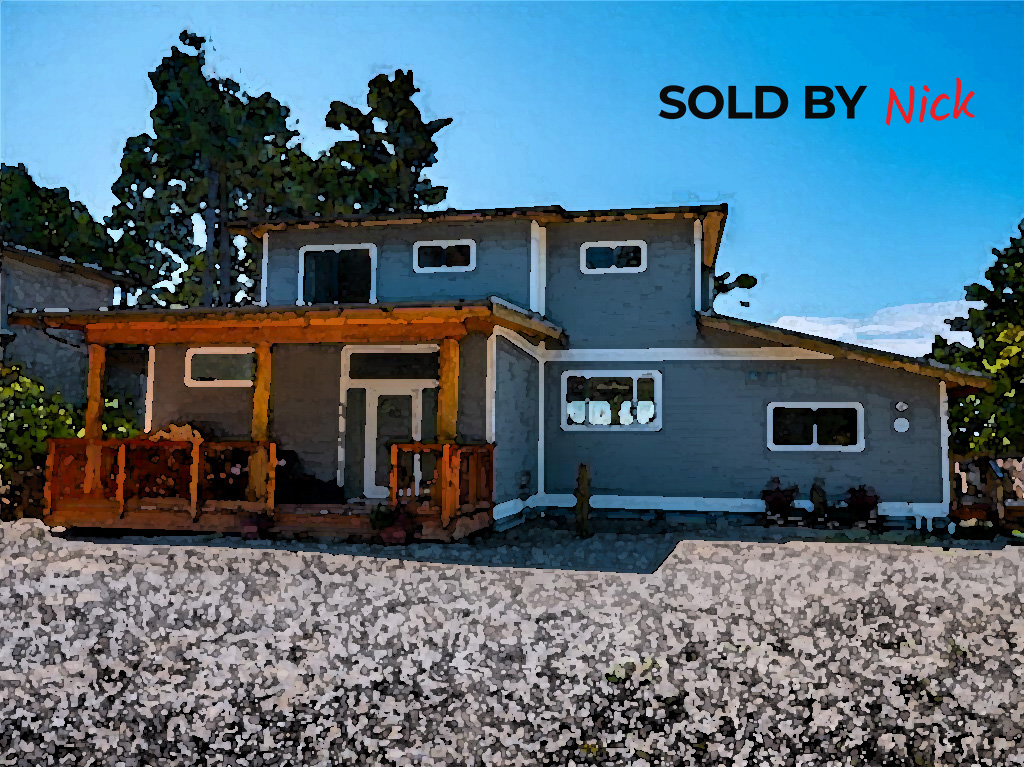 1106 Coral Way, Uclulet BC Sold By Nick