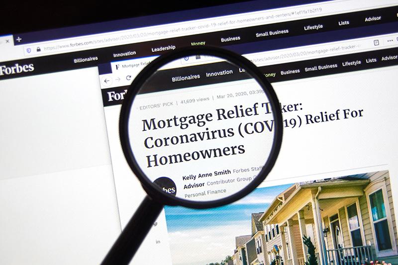 Canada Mortgage Relief COVID 19
