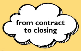contract to closing