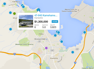Search Kaneohe Homes By Map