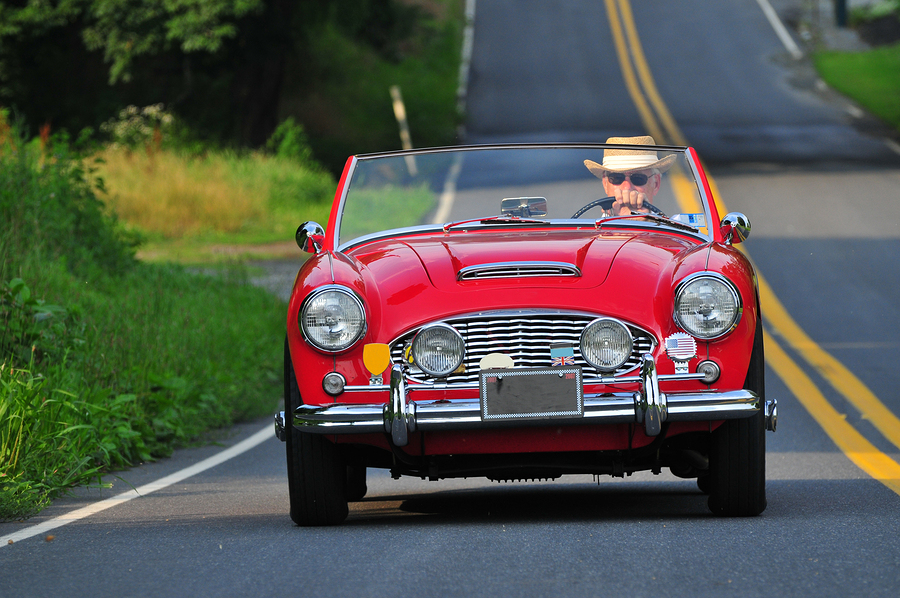 Car enthusiasts who live in Snohomish go to the classic car show.