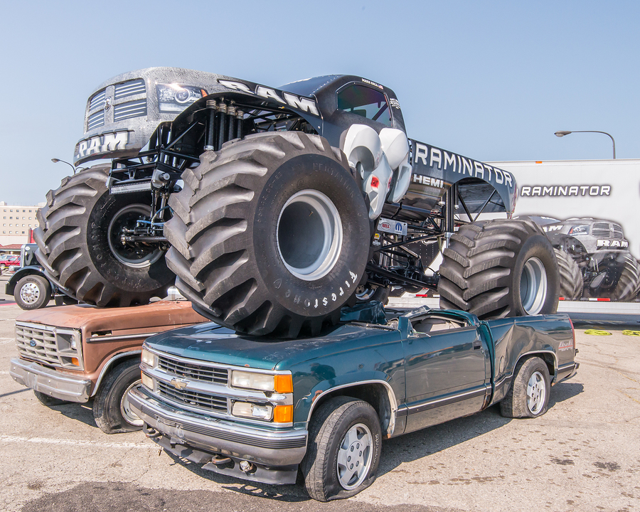 Come see the monster trucks on Monroe real estate.