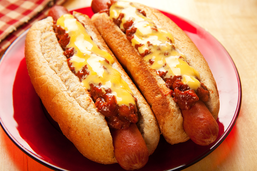 Get giant hot dogs near your Monroe home.