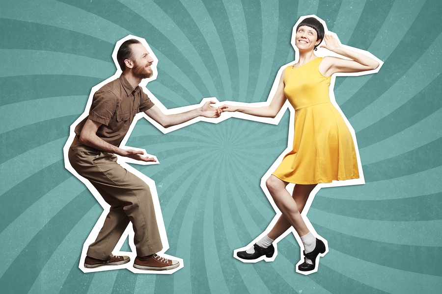 Go swing dancing near your Monroe home.