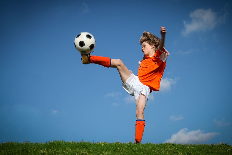 Kids from Snohomish real estate play soccer
