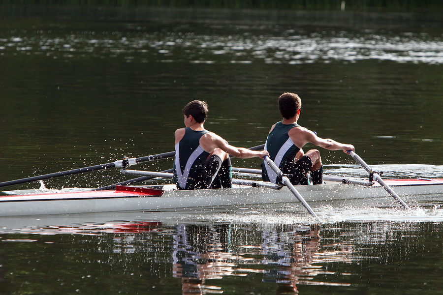 Kids who live in Lake Stevens learn to row crew.