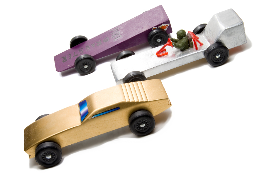 Monroe property owners go to the pinewood derby.