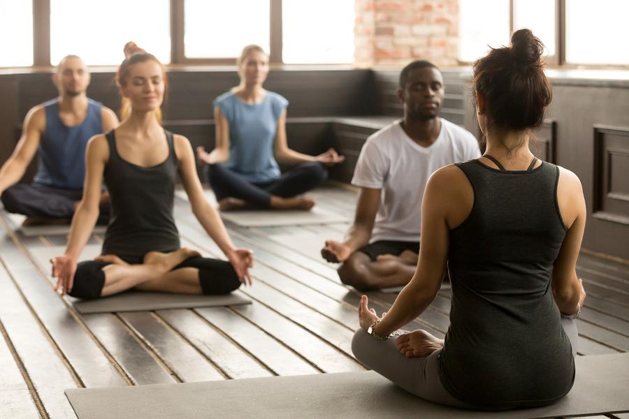 People living in Lake Stevens go to Om Yoga Northwest.