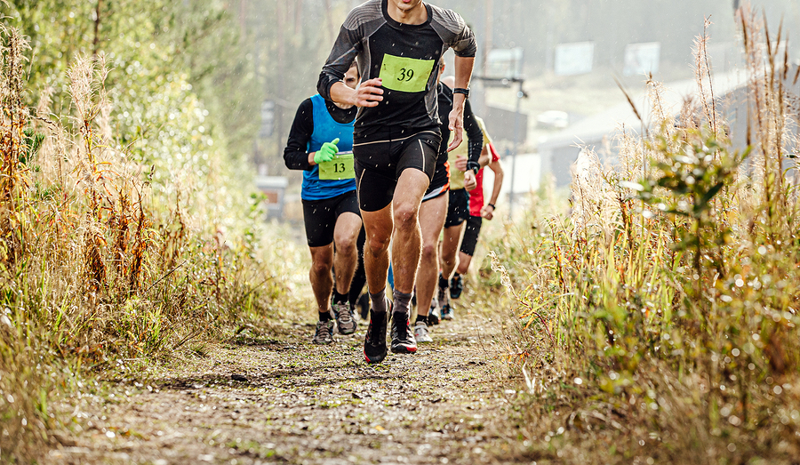 Runners living in Lake Stevens do the C-Trail Run.